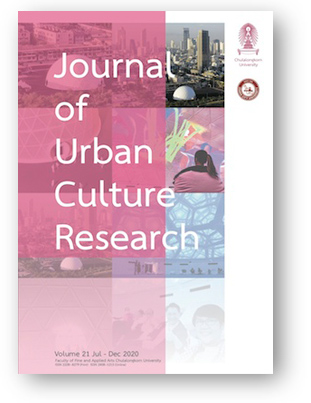 Journal of Urban Culture Research - Cover images of Chulalongkorn's University's FAAMAI Dome Bangkok was designed by Alan Kinear.